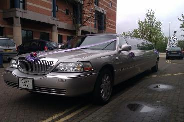 wedding limousine hire Teesside and the north east